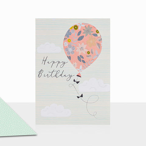 Balloon,Happy,Birthday,Card,buy birthday cards with balloon online, buy balloon birthday cards online, buy contemporary birthday cards online, birthday cards for her online, buy gender neutral birthday cards with candles online, buy unisex birthday card