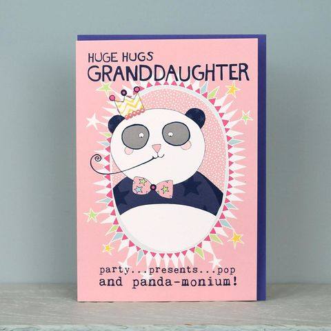 Panda,Granddaughter,Birthday,Card,buy panda birthday cards online, buy grand-daughter birthday card online, buy birthday cards for granddaughters online, buy card from grandparent online, buy card from grandma online, buy birthday cards for grand-daughters online, buy birthday cards for g