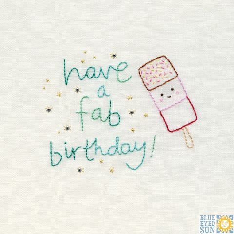 Ice,Lolly,Fab,Birthday,Card,buy birthday card for her online, buy birthday card for him online, buy unisex birthday cards with ice lolly online, buy summer birthday cards, buy gender neutral birthday cards, buy birthday cards with ice cream online, buy childs birthday card with ice