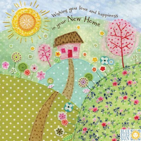 Wishing,You,Love,And,Happiness,In,Your,New,Home,Card,buy floral new home card online, buy cards for new homes online, buy congratulations on your new home card online, buy cottage welcome to your new home cards online, buy pretty new home cards online