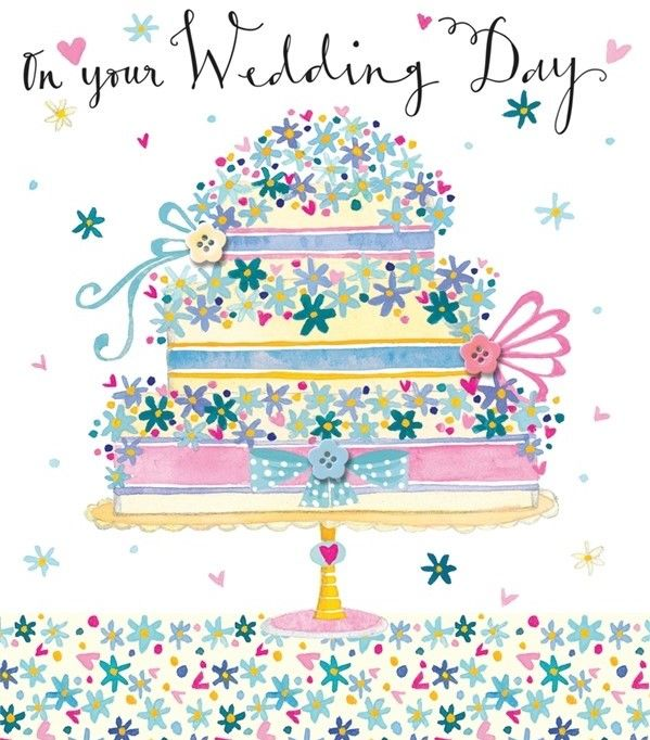 Wedding Cake On Your Wedding Day Card - product images  of