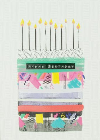 Birthday,Cake,&,Candles,Happy,Card,buy birthday cards for him online, buy birthday cards with cakes online, buy birthday cake birthday card online, cake and candles birthday card, unisex birthday cards with birthday cake, gender neutral birthday cards, birthday cake cards