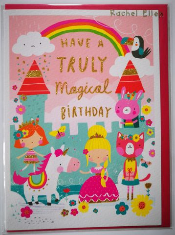 Princess,Castle,Girls,Birthday,Card,buy animal birthday card for child online, buy princess birthday card for little girl online, buy pink girls birthday cards online, buy girls birthday cards online, buy princess birthday card for girls online, buy rachel ellen kids birthday cards online b