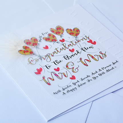 buy wedding day cards online from karenza paperie