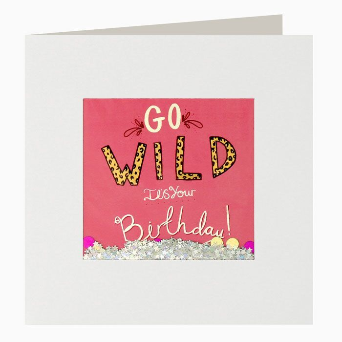 Shakies Go Wild It's Your Birthday Card - product images