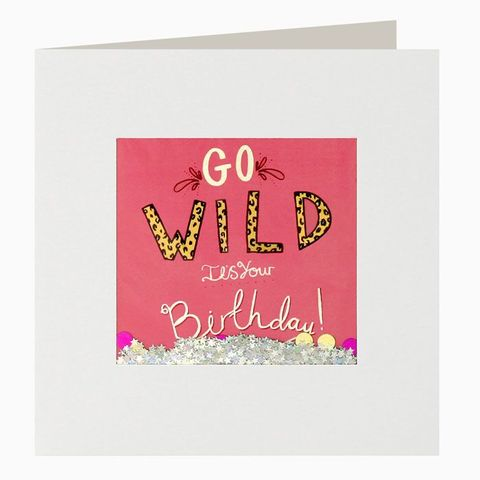 Shakies,Go,Wild,It's,Your,Birthday,Card,buy shakies birthday cards online, buy go wild birthday cards online, buy gender neutral birthday cards online, buy balloon birthday cards online, buy birthday cards for him, buy birthday cards for her, buy luxury birthday cards online