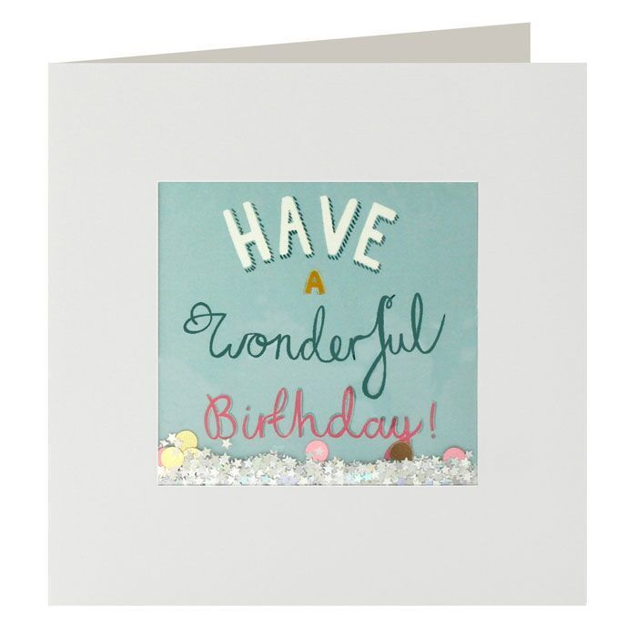 Shakies Have A Wonderful Birthday Card - product images
