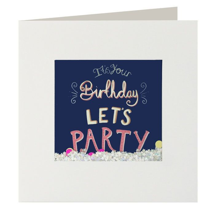 Shakies It's Your Birthday Let's Party Card - product images