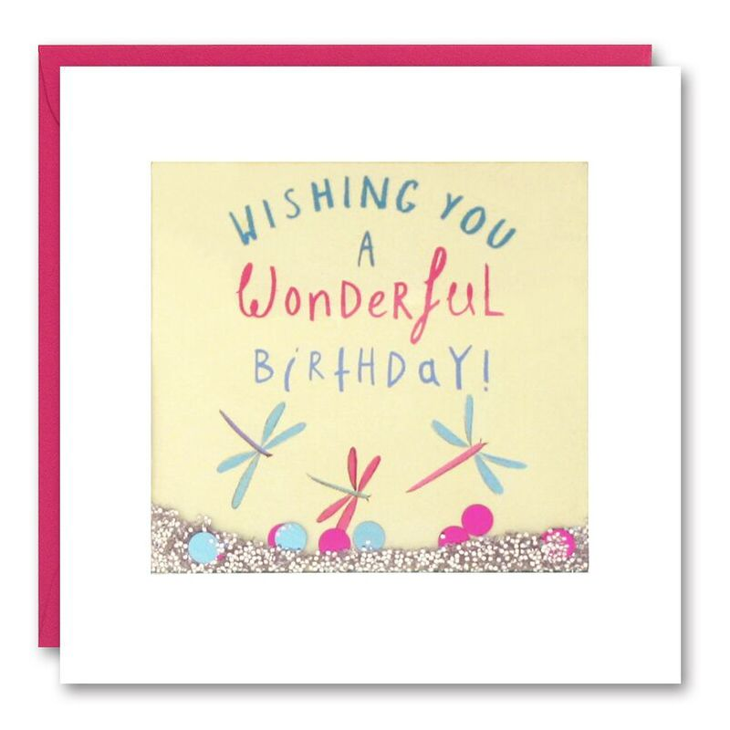 Shakies Dragonflies Birthday Card - product images