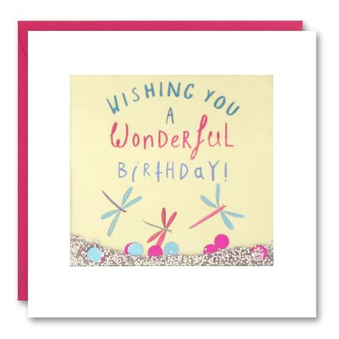Shakies,Dragonflies,Birthday,Card,buy shakies birthday cards online, buy dragonfly birthday cards for her online, buy birthday cards with dragonflies online, buy summer birthday cards online,buy gender neutral birthday cards online, buy balloon birthday cards online, buy birthday cards fo