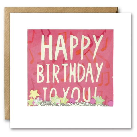 Shakies,Musical,Notes,Happy,Birthday,To,You,Card,buy shakies birthday cards online, buy musical notes birthday cards for her online, buy birthday cards with dragonflies online, buy gender neutral birthday cards online, buy hapy birthday to you cards online