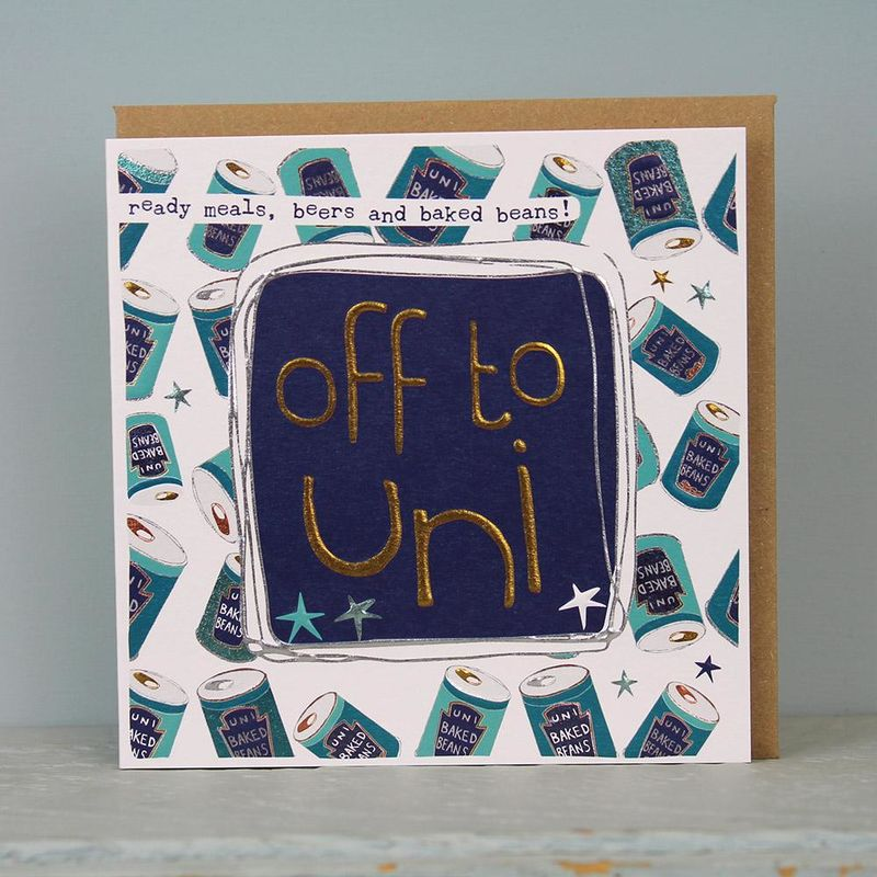 Off To Uni Good Luck Card - product images