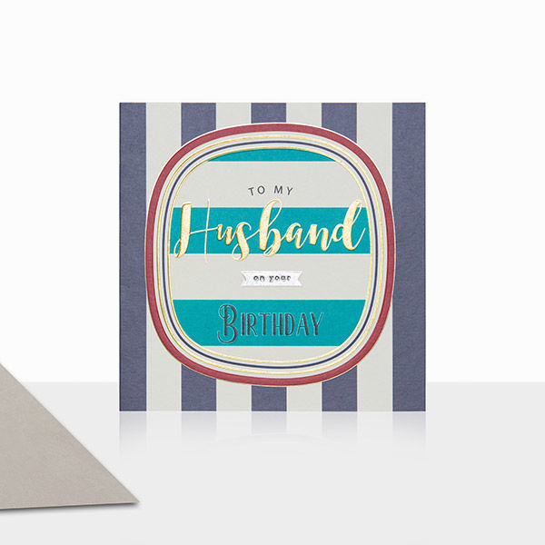 Husband Birthday Card - product images  of