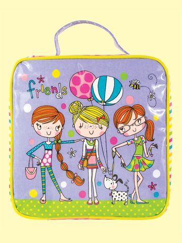 Rachel,Ellen,Friends,Lunch,Bag,buy rachel ellen friends lunch bag online, buy girls lunch bags and boxes for school online, buy back to school lunch boxes online, buy girls lunch bag with cute design online girls dog balloons