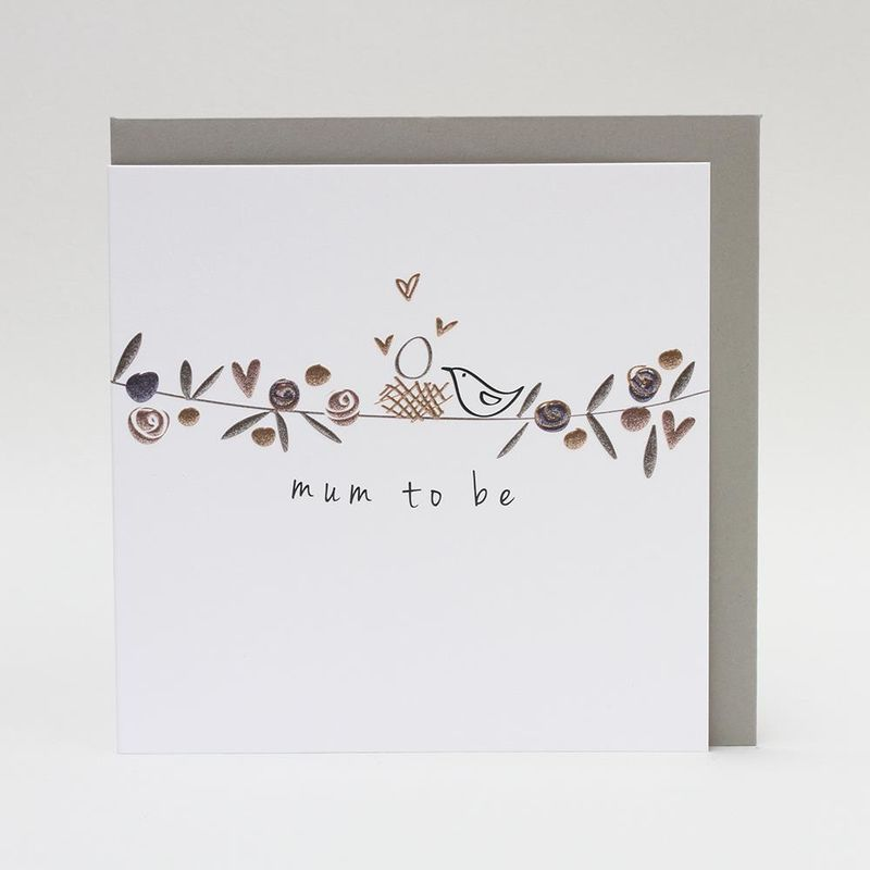 Contemporary Mum To Be Card - product images  of