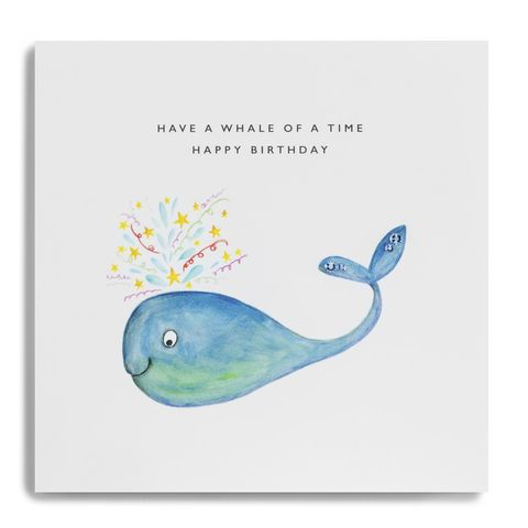 Have,A,Whale,Of,Time,Birthday,Card,buy have a whale of a time birthday card online, buy birthday cards with whales online, buy animal birthday cards online, buy gender neutral birthday cards under water sea creatures whale fish, buy male birthday cards with whale online, buy animal birthda