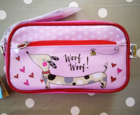 Rachel,Ellen,Pencil,Case,-,Sausage,Dogs,Design,buy rachel ellen pencil case online, buy girls pencil cases for school online, buy dog pencil case online, buy pretty pencil cases online, buy pretty stationery online, dog stationery, animal pencil case