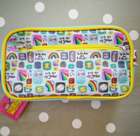 Rachel,Ellen,Pencil,Case,-,Suns,,Moons,and,Rainbows,Design,buy rachel ellen pencil case online, buy girls pencil cases for school online, buy rainbow pencil case online, buy pretty pencil cases online, buy pretty stationery online, sun pencil case, moon pencil case, rainbow pencil cae