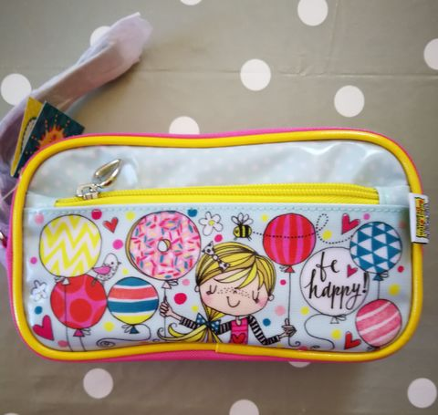 Rachel,Ellen,Pencil,Case,-,Girl,and,Balloons,Design,buy rachel ellen pencil case online, buy girls pencil cases for school online, buy balloons pencil case online, buy pretty pencil cases online, buy pretty stationery online, dog stationery, animal pencil case