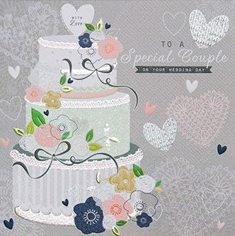 To A Special Couple Wedding Day Card - product images  of