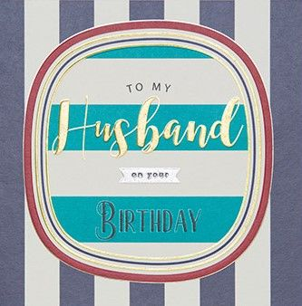 Husband,Birthday,Card,Buy husband birthday card online, but birthday cards for husbands online, striped birthday cards for husband
