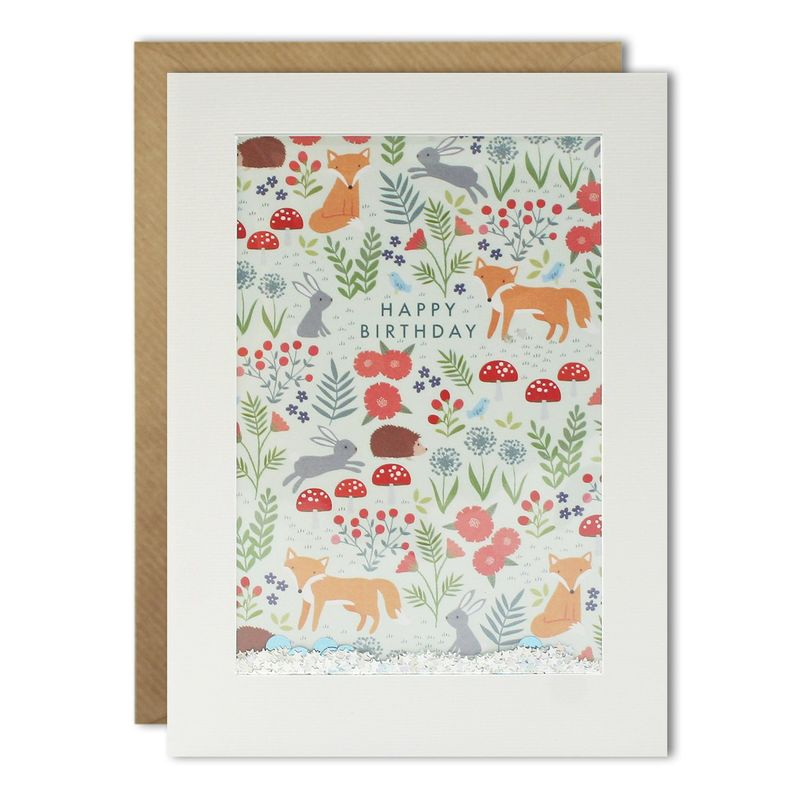 Shakies Woodland Animals Birthday Card - Perfect for Autumn - product images