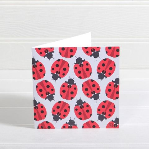 Ladybirds,Greetings,Card,-,Emily,Burningham,Blank,buy emily burningham cards online, buy blank cards online, buy cards with ladybirds online, buy ladybird cards online, buy nature cards online, buy animal cards online for her,