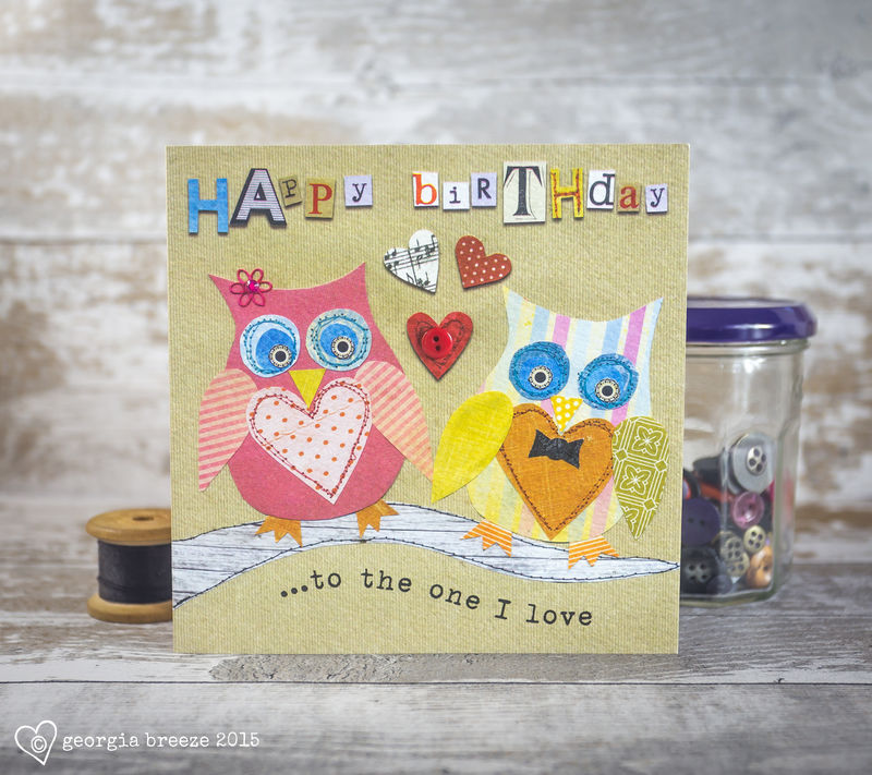 To The One I Love Owls Birthday Card - product images  of