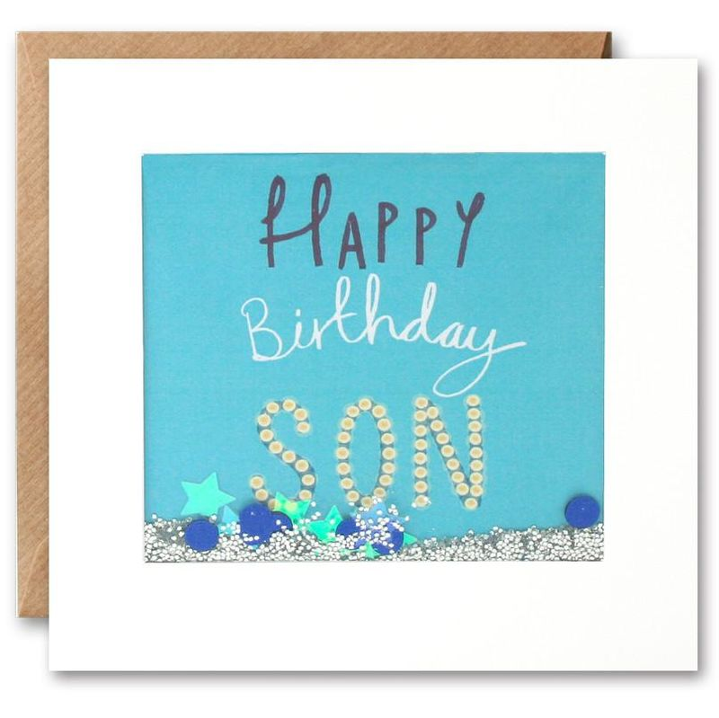 Shakies Son Happy Birthday Card - product images