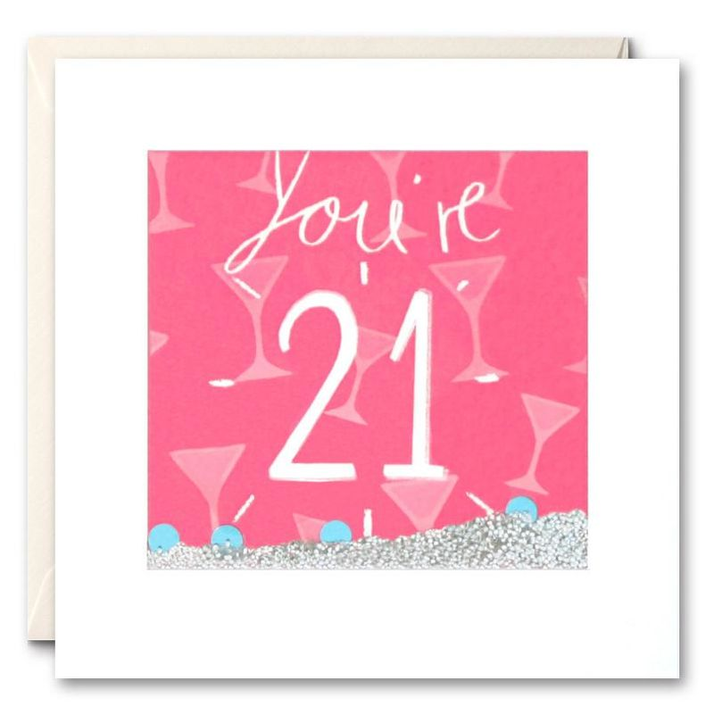 Shakies You're 21 Birthday Card - product images