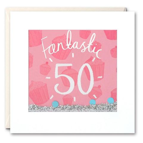 Shakies,50th,Birthday,Card,buy shakies birthday cards online, buy female 50th birthday cards online, buy fiftieth birthday cards for her online, buy cake age fifty birthday cards online,