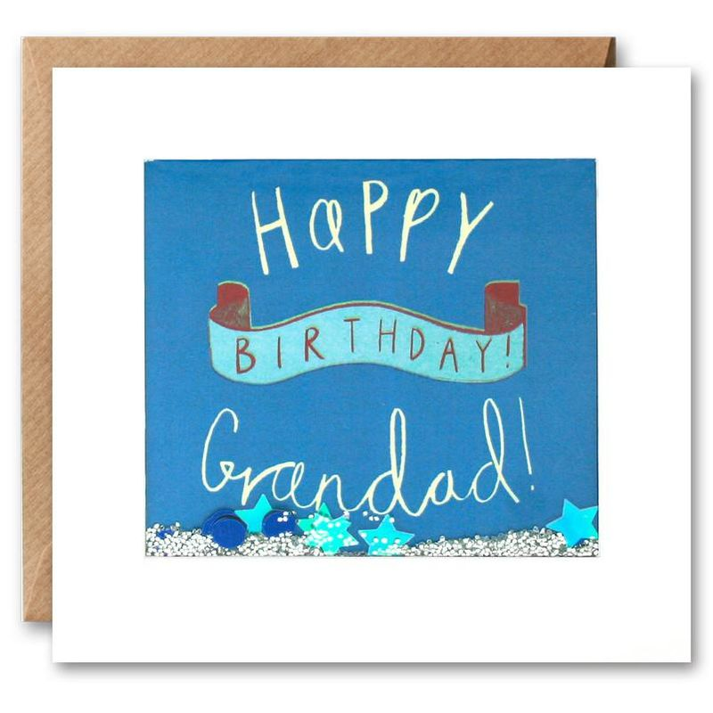 Shakies Grandad Happy Birthday Card - product images