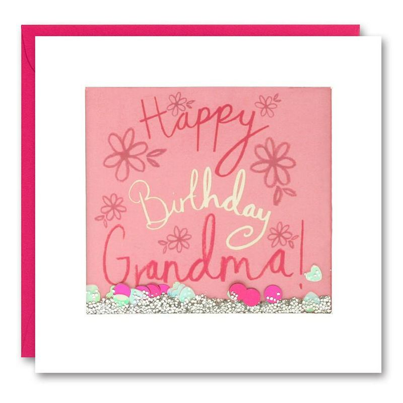 Shakies Grandma Happy Birthday Card - product images