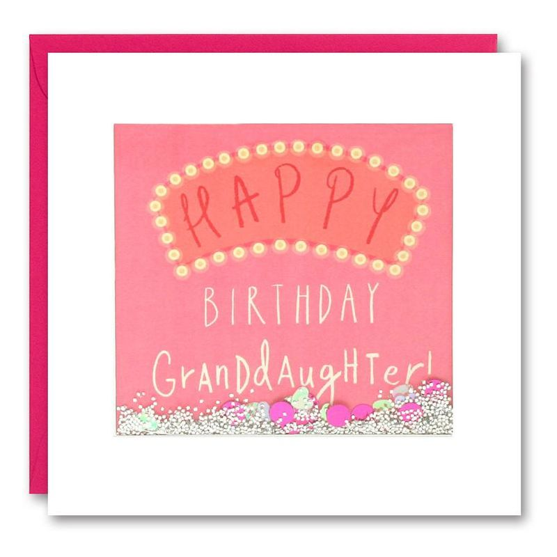 Shakies Granddaughter Happy Birthday Card - product images