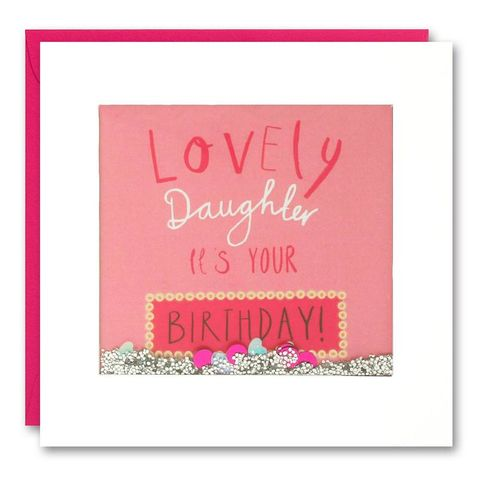 Shakies,Daughter,Happy,Birthday,Card,buy shakies birthday cards online, buy daughter birthday cards online, buy wonderful birthday cards for daughters online, buy luxury birthday cards for daughter online from parents parent mum and dad daddy or mummy, buy pink daughter birthday card online