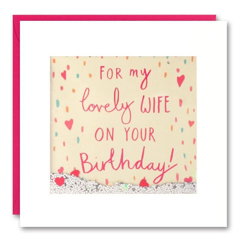 Shakies Lovely Wife Happy Birthday Card - product images