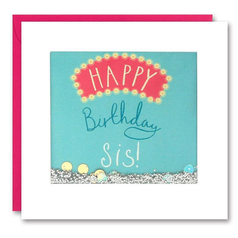 Shakies Sis Happy Birthday Card - product images