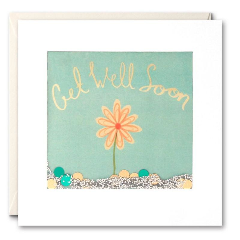 Shakies Flower Get Well Soon Card - product images