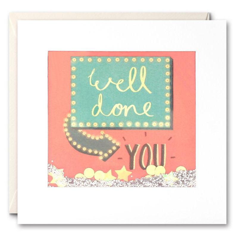 Shakies Well Done You Congratulations Card - product images