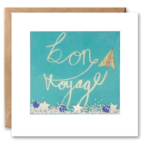 Shakies,Paper,Plane,Bon,Voyage,Card,buy shakies cards online, buy special bon voyage cards online with confetti, buy bon voyage travelling card online, buy sorry you are leaving cards online, buy leaving cards online, buy going travelling cards online, buy cards for bon voyage safe travels