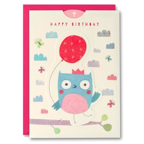 Owl,Ups,&,Downs,Card,-,Child's,Birthday,buy girls birthday card online, buy owl birthday cards online, buy birthday cards with owls online, buy ups and downs birthday cards for kids online, buy birthday cards for girls online, buy bird birthday cards for children online