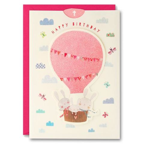 Bunny,Rabbits,and,Hot,Air,Balloon,Ups,&,Downs,Card,-,Child's,Birthday,buy girls birthday card online, buy rabbit birthday cards online, buy birthday cards with bunny rabbits online, buy ups and downs birthday cards for kids online, buy birthday cards for girls online, buy hot air balloon birthday cards for children online