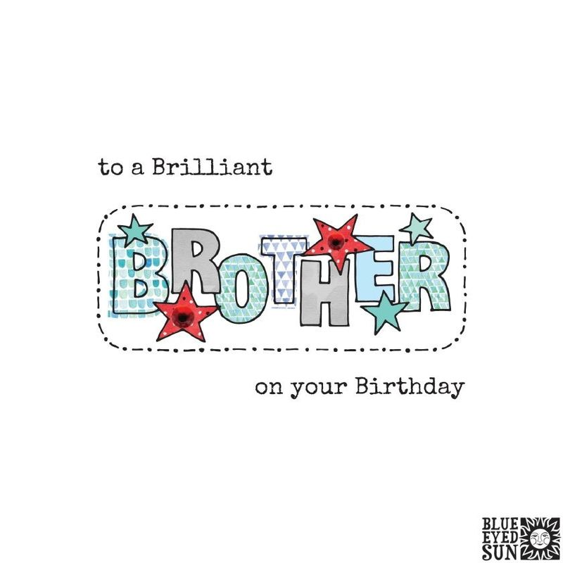 Brilliant Brother Birthday Card - product images