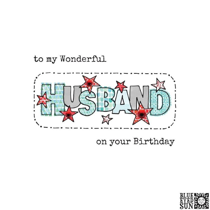 To My Wonderful Husband Birthday Card - product images
