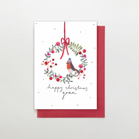 Hand,Finished,Gran,Christmas,Card,buy gran christmas cards online, buy wonderful gran christmas cards online, buy hand finished christmas cards online for grans, buy grandparent christmas cards online, gran christmas cards, buy christmas cards for grandparents online, granny cards