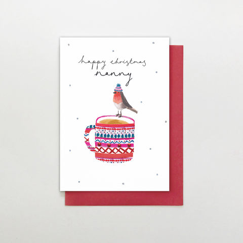 Hand,Finished,Nanny,Christmas,Card,buy nanny christmas cards online, buy wonderful nanny christmas cards online, buy hand finished christmas cards online for nannies, buy grandparent christmas cards online, nanny christmas cards, buy christmas cards for grandparents online, nan