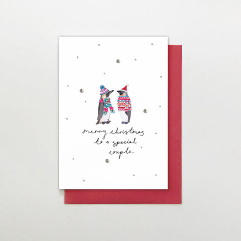 Hand,Finished,Special,Couple,Christmas,Card,buy special couple christmas card online, buy christmas cards for special couples online, buy to you both christmas card online, buy special couple christmas cards online, buy special friends family and relations christmas cards online,
