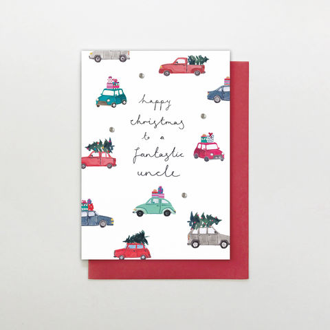 Hand,Finished,Fantastic,Uncle,Christmas,Card,buy uncle christmas cards online, buy uncle christmas cards online, buy hand finished christmas cards online for uncle, buy uncle christmas card from niece or nephew online, from nieces and nephews uncle  card