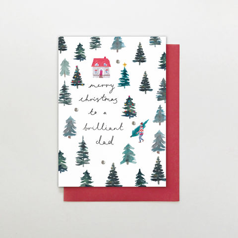 Hand,Finished,To,A,Brilliant,Dad,Christmas,Card,buy dad christmas cards online, buy wonderful parent christmas cards online, buy hand finished christmas cards online for parents, buy brilliant dad christmas card from son daughter child children sons and daughters online, buy christmas cards for dads on