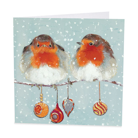 Pack,Of,Robins,&,Baubles,Christmas,Cards,-,Shelter,Charity,buy shelter charity christmas cards online, buy luxury christmas cards online with birds, buy robin christmas cards online, buy pack of christmas cards with robins, buy animal and bird christmas cards online, buy little red robin and holly christmas card
